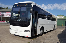 53 seat Mercedes Benz Coach for hire and charter
