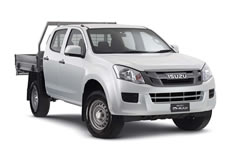 5 seat Isuzu D Max SX 4WD Dual Cab for hire