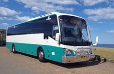 57 seat Scania K280 Coach for hire and charter