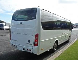 28 seat Yutong Auto Mini-Coach for hire, rent and charter